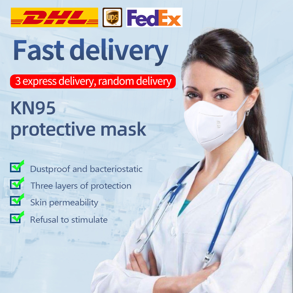 Disposable Mask Dustproof Face Mouth Masks Anti PM2.5 Anti Influenza Breathing Safety Masks Face KN95 MASK