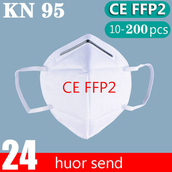 10-200 FFP2 mask mouth protective dust mask KN95 dust  Mouth Mask FFP2  Breathable Anti-influenza  mascarillas mascherine