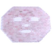 Нефритовая маска порошковая с кристаллами розовый кварц для