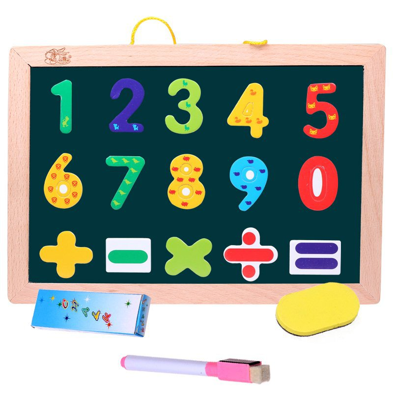 Youdele Genuine Product Wall-Mounted Small Blackboard Wooden Double-Sided Magnetic CHILDREN'S Drawing Board Blackboard Wall-Moun