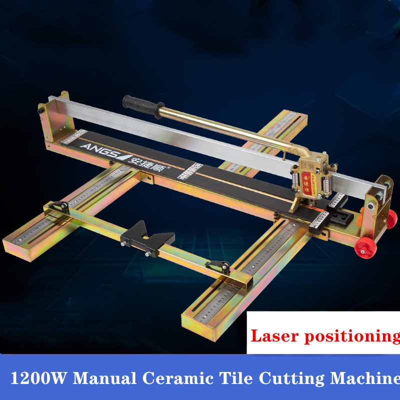 1200W Manual Ceramic Tile Cutting Machine Ceramic Tile   Push Cutter And Ground Tile Cutting Machine