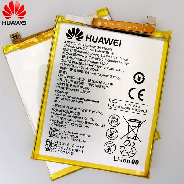 2020 original Real 3000mAh HB366481ECW For Huawei p9/p9 lite/honor 8/p10 lite/p8 lite 2017 /p20 lite/p9lite battery +Tool 2