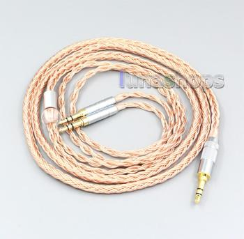 2.5mm XLR Balanced 16 Core 99% 7N OCC Earphone Cable For Final Audio Design Pandora Hope vi Denon AH-D600 D7100 vTrue LN006749