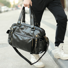 TANGHAO Men Vintage Messenger Bag Outdoor Travel Handbag Hig