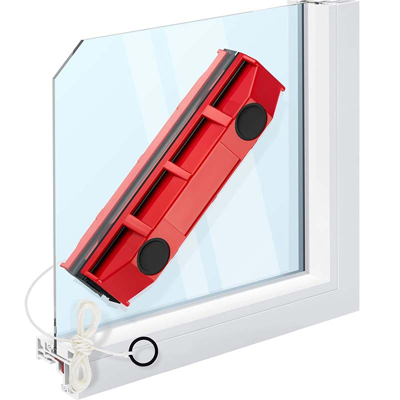 Magnetic Window Cleaner for Single Glazed Double Sided Window Cleaning Brush Fits Useful Glass Cleaning Tools Kichen Accessories
