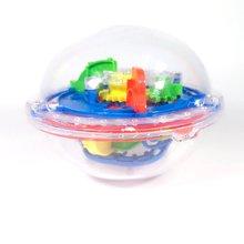 Children'S Intelligence Training Challenge 3D Fun Maze Ball Ufo Magic Smash Maze Game Ball Magic Maze Ball жилет maze