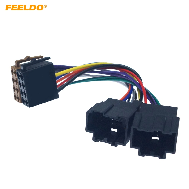 FEELDO Car CD Radio Conversion Plug Wire Adapter For Chevrolet Opel ISO Stereo Wiring Harness Original Head Units Cable #HQ6320(China)