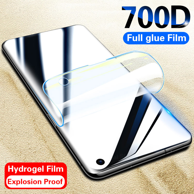 700D Screen Protector For Samsung Galaxy S10 S9 8 Plus S20 Ultra Full Cover Protective Film On For Samsung Note 10 9 8 Hydrogel