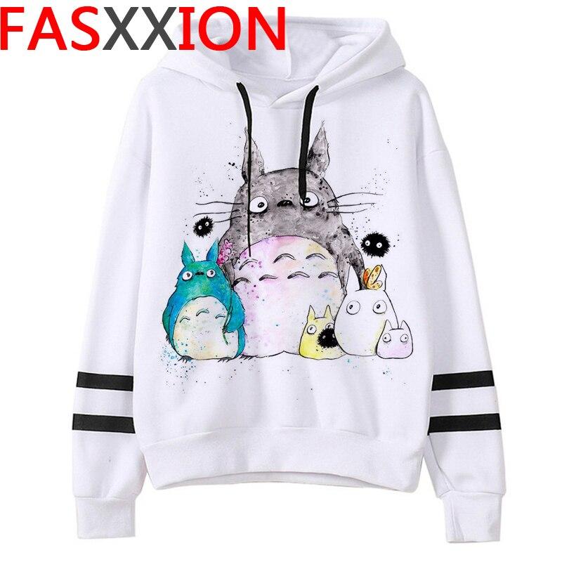 Totoro Studio Ghibli hoodies women streetwear grunge femme hoody sweatshirts hip hop streetwear 22
