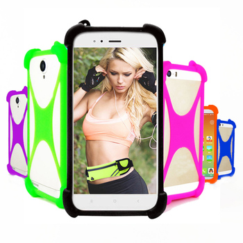 For BQ 5301 BQ-5504 Strike View / Selfie Max Case Silicone Bumper Cell Phone Elastic Stretch Cover Soft Skin Cases case for bq 6035l cover soft tpu silicone back cover for bq 6035l strike power max case capa phone protective case