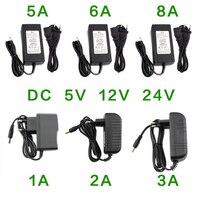 Carregador universal de energia, ac/dc, 220v/12v/24 v, 1a, 2a, 3a, 5a, 6a, 8a, transformador de 12v para 12v e 24 v