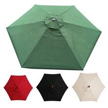 Replacement Garden Parasol Canopy Cover Garden Shade Umbrella Covers Rainproof Outdoor Umbrella Surface Replacement