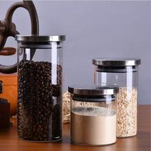 Glass Jars For Spices Slimes With Lid Storage Bottle Tea Coffee Candy Cane Food Jar Canister Kitchen Mason Jar Bank Sugar Bowl