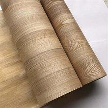 Naturale Genuino Impiallacciatura di Legno con tessuto non tessuto Del Tessuto Fraxinus Mandshurica Rupr. Manchurian Frassino Cinese circa 60cm x 2.5m C/C
