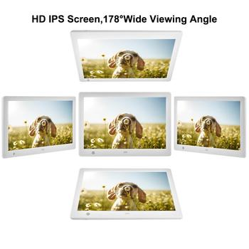 10.1 Inch IPS Screen Digital Photo Frame With Motion Sensor Remote Control Support Calendar Digital Photo Frame