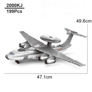 Image 5 - אבני בניין Fit Legoingly 285Pcs צבאי סדרת J15 מבוסס מוביל לוחם MOC מטוס דגם צעצועים למבוגרים ילדים מתנות