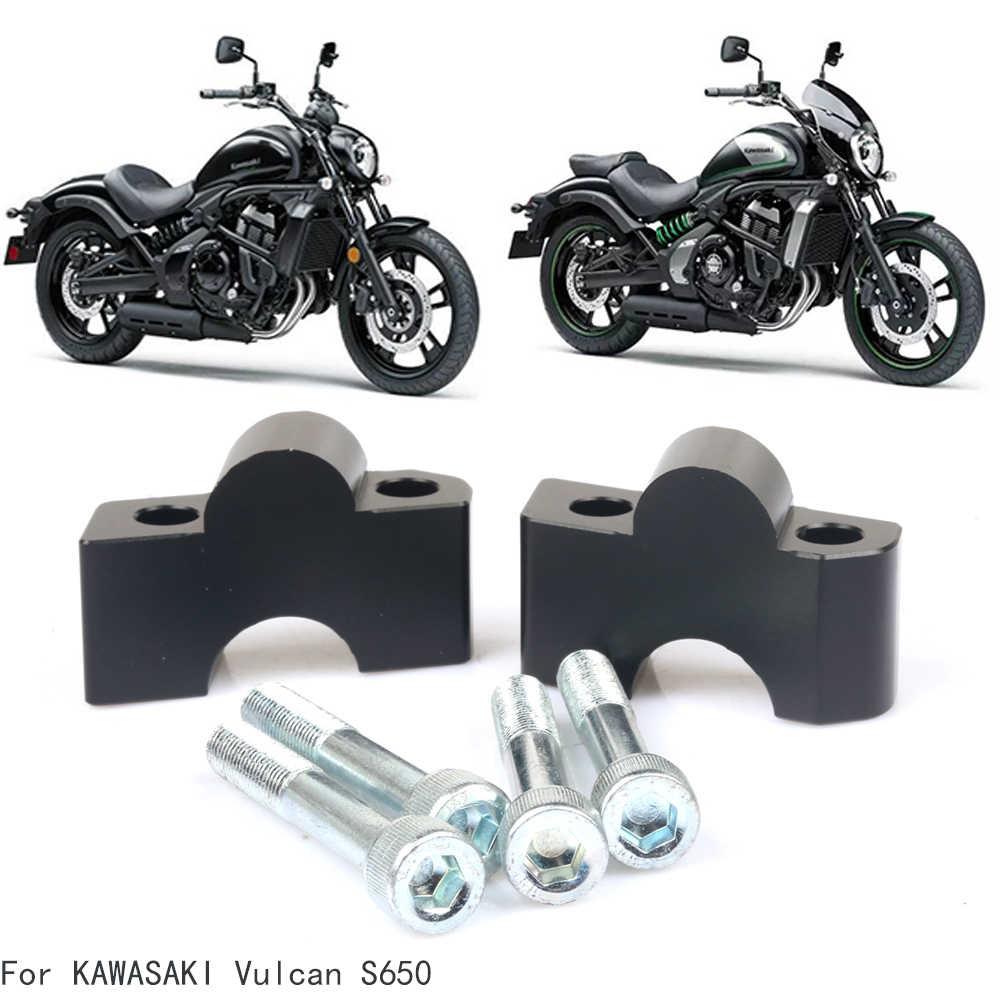 Для KAWASAKI Vulcan S 650 S650 VN650 VN 650 мотоцикл образного руля до спины движется кронштейн комплект рукоятка Riser Крепление зажим