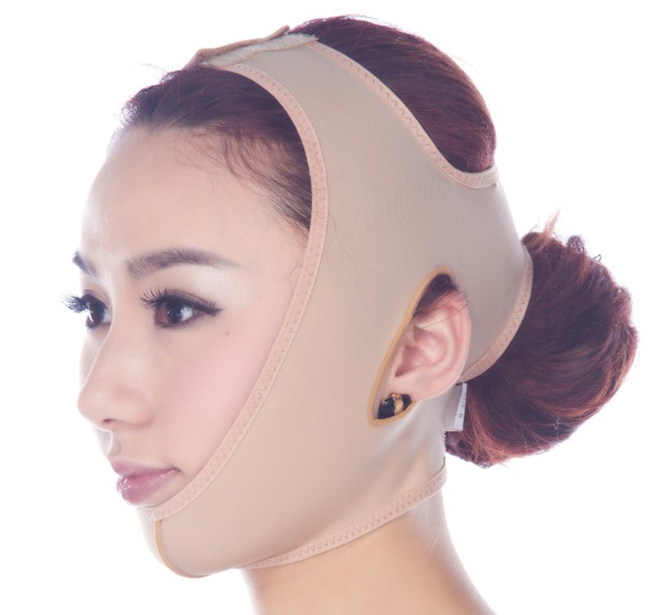 Facial Thin Face  Bandage And Lift Reduce Double Chin Face Mask Face Thining Band Miracle V-Shaped Face Slimming Mask