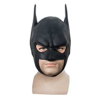 Batman Masks Full Head Batman Vs Superman Mask Dark Knight Latex Mask Cosplay Batman Mask Halloween Party the batman bruce wayne latex mask superhero movie cosplay costume halloween party masks
