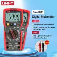 UNI-T UT89X UT89XD Professionale Multimetro Digitale a Vero RMS NCV 20A Corrente AC DC Voltmetro Capacità di Resistenza Tester