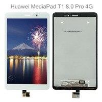 T1-821 para huawei mediapad t1 8.0 pro 4g T1-823L T1-821L T1-821W T1-821 display lcd tela de toque digitador assembléia + ferramentas gratuitas