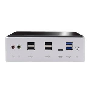 Image 5 - 2020New 10th generazione Mini PC Intel i7 10510U 4 Core 2 * DDR4 M.2 NVMe NUC Computer Desktop Win10 Pro 2 Lan WiFi i5 8250U DP HDMI