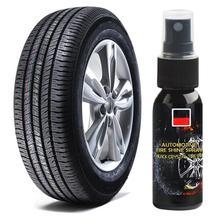 30 мл автомобильных шин средство для блеска ступицы колеса для автомобиля для чистки автомобильных шин чистящее средство приборной панели а...