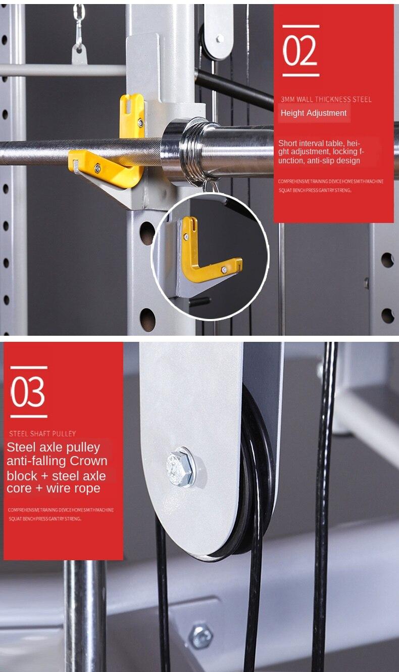 Profissão liberdade quadro agachamento rack multifuncional equipamentos