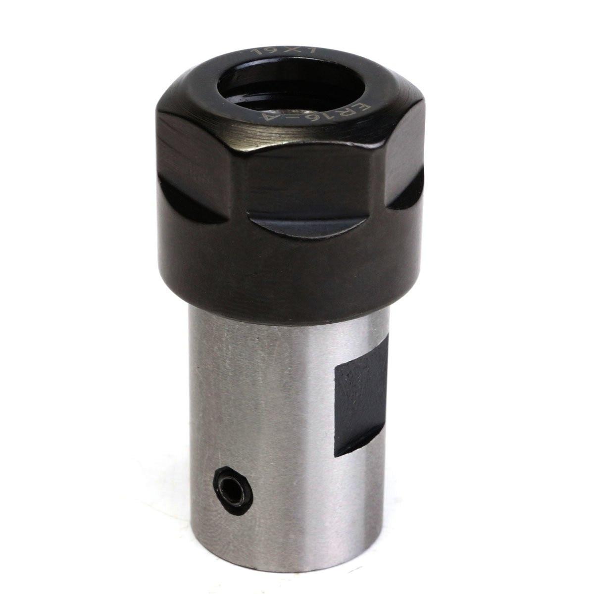 1pcs ER16 Collet Chuck Motor Shaft Extension Rod Spindle Lathe Tools 8MM Milling Boring CNC Milling