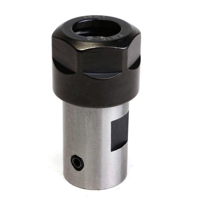 1pcs er16 콜렛 척 모터 샤프트 연장로드 스핀들 선반 도구 8mm 밀링 보링 cnc 밀링
