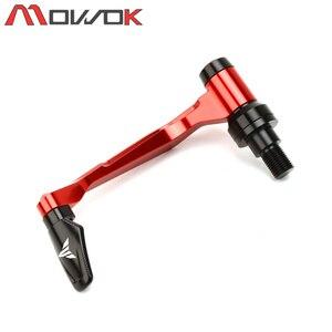 Image 3 - For YAMAHA MT07 MT09 MT 10 MT 125 MT 03 MT 01 XSR Handlebar Grips Brake Clutch Levers Guard Protector+Hand Grips Bar End Cap