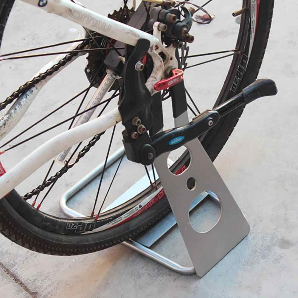 1*Bike Floor Stand Holder Rear Hub Triangle Mount Holder Parking Rack Newest HOT