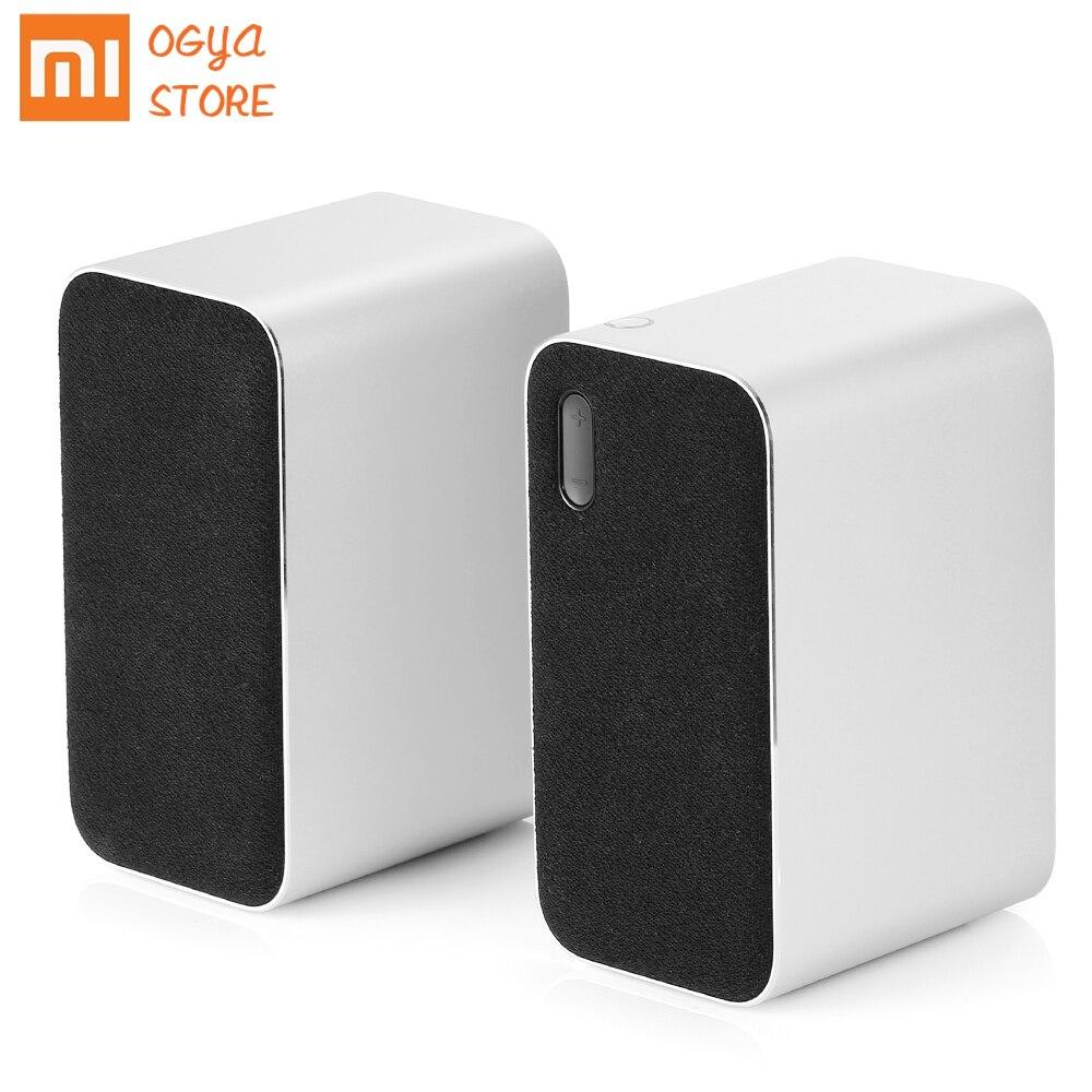 Xiao mi ordinateur Bluetooth haut-parleur mi crophone sans fil stéréo haut-parleur Aux indicateur LED 12W 2.4GHz pour PC tablette téléphone mobile