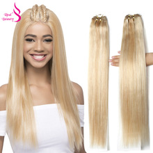 Real Beauty Ombre P27/613 Brazilian Straight Hair Bundles Remy Hair