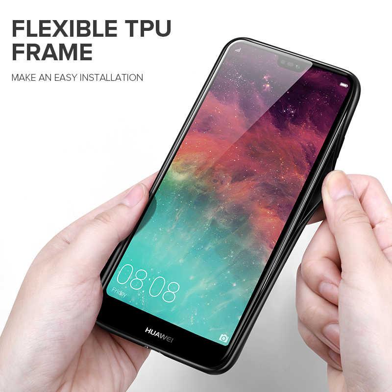 Étui pour huawei en verre trempé INIU P30 P20 Mate 30 20X20 Pro Lite housse de téléphone portable de luxe pour Nova 4e 4 3e 3 Honor 20i Coque