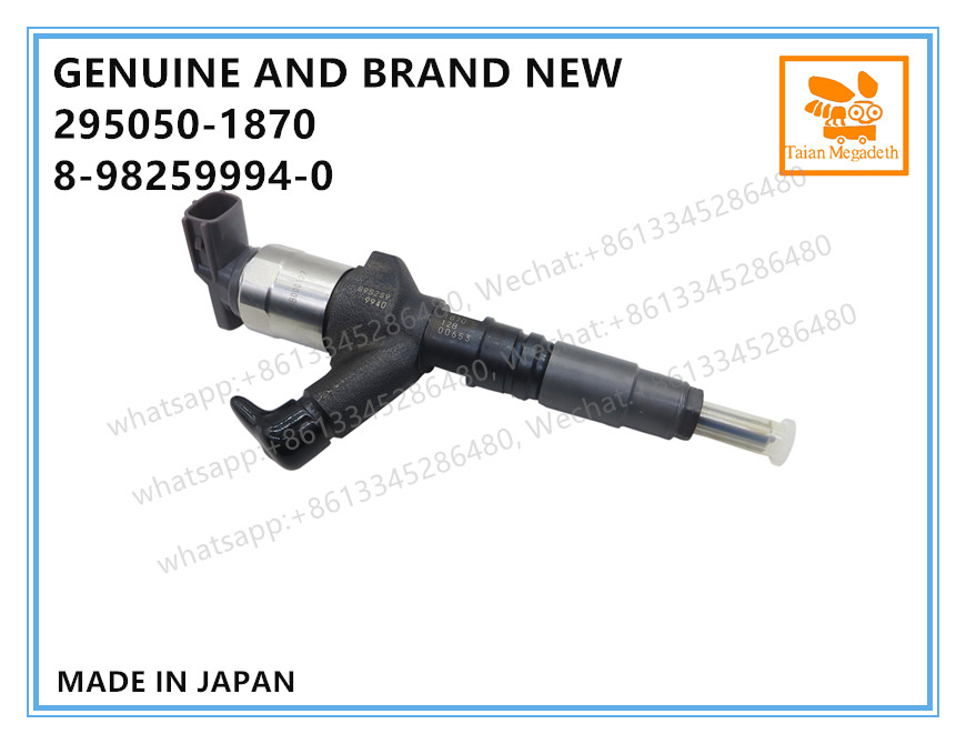 Image 2 - GENUINE AND BRAND NEW DIESEL COMMON RAIL FUEL INJECTOR 295050 1870, 8982599940 FOR ISUZU NLR NMR 4JH1 ENGINEFuel Inject. Controls & Parts   -