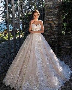 Image 2 - Venda quente cetim rosa fora do ombro design de renda especial vestido de casamento fábrica feita preço por atacado vestido de casamento feito sob encomenda