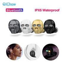 2020 New Dellosso Del Cranio Auricolare Bluetooth con Microfono A Cancellazione di Rumore Hi Fi Vivavoce Bass Stereo Mini Micro Auricolare Auricolare