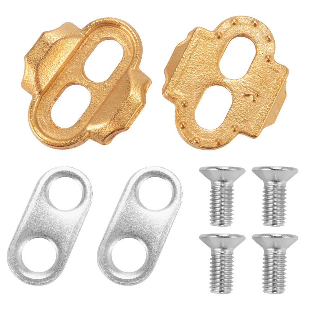 Bike Shoes Cleats Locking Plate MTB Lock Pedal Lock Riding Shoes Splint Set,Bicycle Premium Cleats Crank Brothers Egg Beater Can