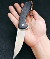 JohnnyJamic Neue Design Model3 Taktische Faltende Messer D2 Klinge Messer Plain Rand Outdoor Survival Taschen Messer EDC Hand Werkzeuge