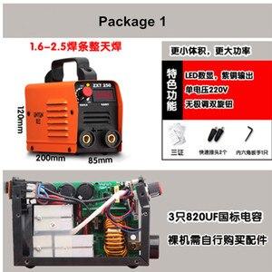 Image 4 - Soldador de arco inversor serie zx7, 220V, IGBT, MMA, 250 Amp, al mejor precio