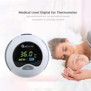 Image 2 - אוזן מדחום דיגיטלי אינפרא אדום LCD טמפרטורת צג מיני אוזן מדחום עבור תינוק ילדים מבוגרים