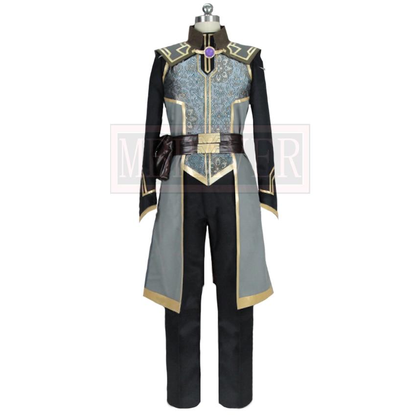 2019 The Dragon Prince Lord Viren Cosplay Costume Custom Made For Boys Men Halloween Christmas