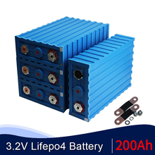 Neue SE200 Calb 4PCS 3,2 V 200AH Lithium-Eisen Phosphat Zelle DIY Solar 12V 24V 48V 72V 96V Lifepo4 Batterie Pack EU UNS STEUER FREIES