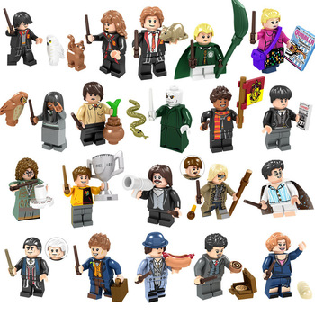 LEGO 20pcs 2020 New S brand Harrys Potter series 20 movie minifigures children's educational LEGO building block toys image