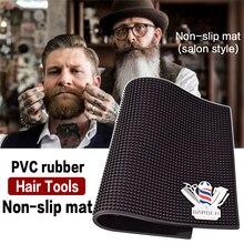 Antypoślizgowa podkładka na narzędzia fryzjerskie Barbershop push shear scisores suszarka nadmuchowa combl clip display pad Barbershop akcesoria