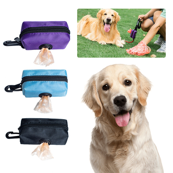 Portable Dog Poop Waste Bag Dispenser Pouch Pet Puppy Cat Pick Up Poop Bag holder Outdoor Pets Supplies Garbage Bags Organizer tanie i dobre opinie DIDIHOU Pooper Scoopers i Torby CN (pochodzenie) Pet Puppy Cat Pick Up Poop Bag Dispenser Portable Dog Poop Waste Bag Holder