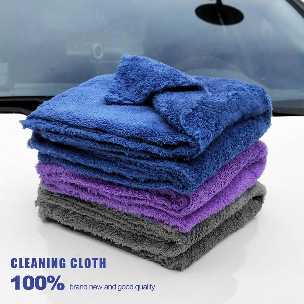 New Premium Microfiber Car Cleaning Cloth Super Absorbent Towel Ultra Soft Car Washing Drying Towel Car Styling Car Washing Care