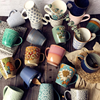 Vintage Coffee Cup Set Ceramic Ceramic Coffee Cup Espresso Nordic Water Bottle Glass Cups Large Mug Vaso Cafe Para Llevar Mugs