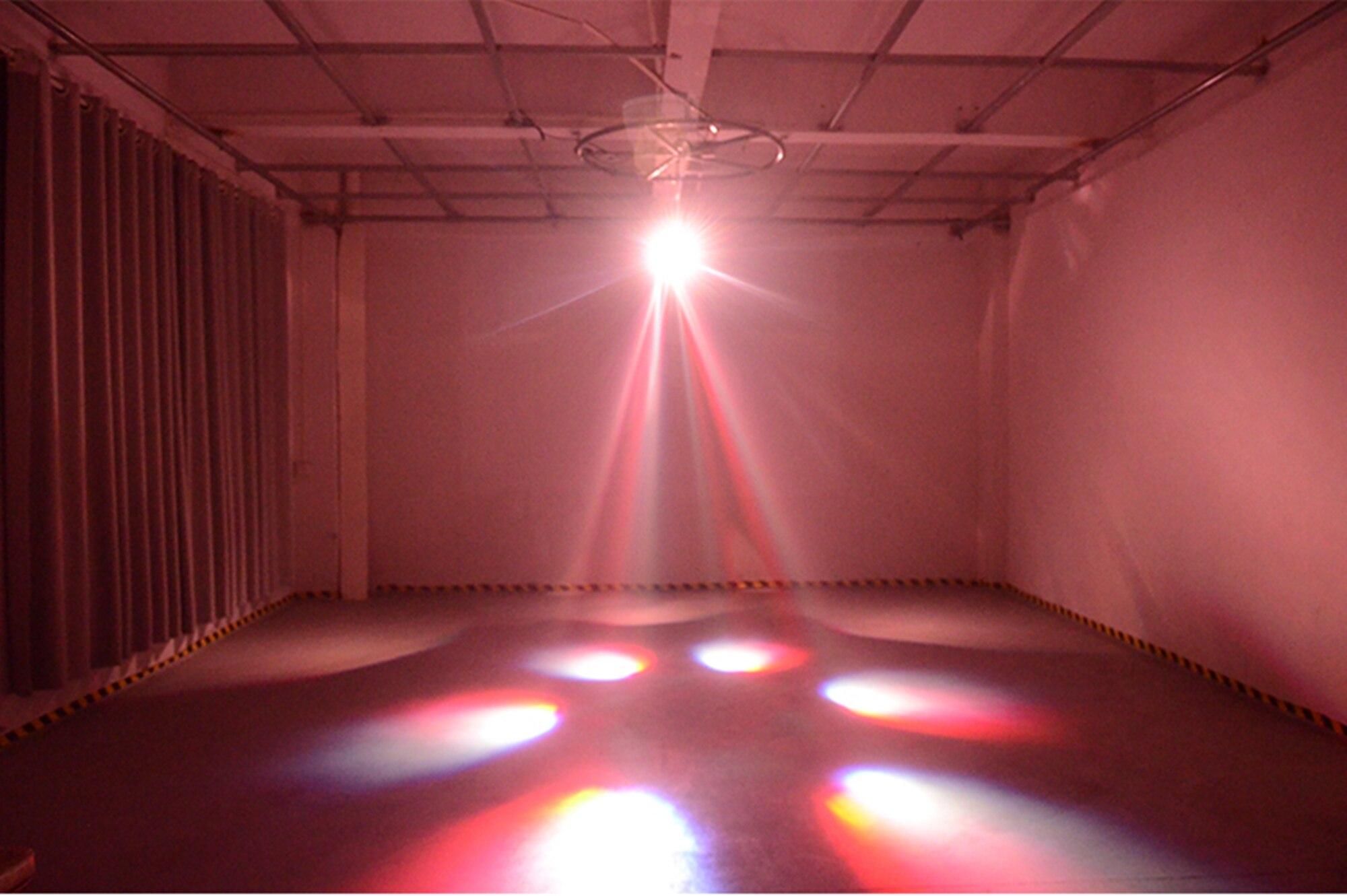 laser cor rotação luz dj disco ktv